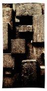 Rusty Art Beach Towel by Joan Carroll