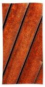 Rusty Hood Louvers Beach Towel