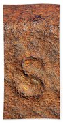 Rusty Letters Usa Beach Towel