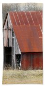 Rusty Ole Barn Beach Towel