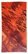 Rusty Textures Beach Towel