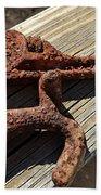 Rusty Tools II Beach Towel