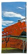 S S Klondike On Yukon River In Whitehorse-yt Beach Towel