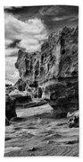 Sabellariid Worms Reef - 3  Beach Towel