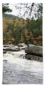 Saco River Rapids North Conway I Beach Towel