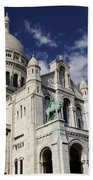 Sacre Coeur Paris Beach Towel