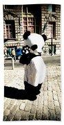 Sad Panda Beach Towel