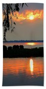 Sadness At Days End Beach Towel