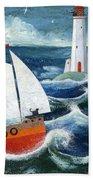 Safe Passage Beach Towel by Peter Adderley