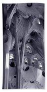 Sagrada Familia Vault Beach Towel