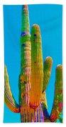 Saguaro Colors Beach Towel
