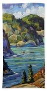 Saguenay Fjord By Prankearts Beach Towel