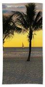 Sail Away At Dawn Beach Towel