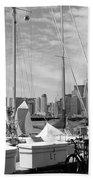 Sail Boats Toronto On Beach Towel