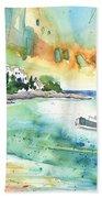 Sailing In Saint Martin Beach Towel