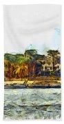 Sailing On The Nile Beach Towel