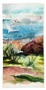 Sailing Towards Anywhere Beach Towel