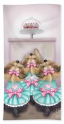 Saint Cupcakes Beach Towel