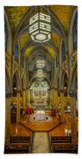 Saint Malachy The Actors Chapel  Beach Towel