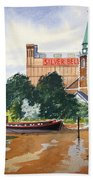 Saint Mary's Church Battersea London Beach Towel