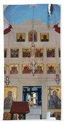 Saint Nicholas Erikousa 1822 Beach Towel