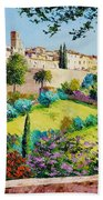 Saint Paul De Vence Beach Towel