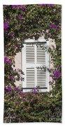 Saint Tropez Window Beach Towel