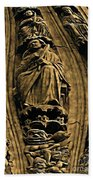 Saints And Demons Beach Towel
