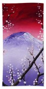 Sakura Beach Towel