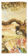 Sakura Beach Towel by Mo T