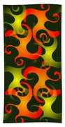Salamanders Dream Beach Towel