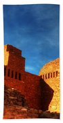 Salinas Pueblo Abo Mission Golden Light Beach Towel