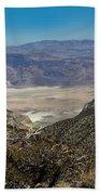 Saline Valley Panorama Beach Towel
