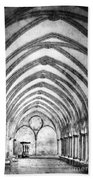 Salisbury Cathedral Cloisters Beach Towel