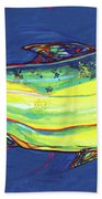 Salmon Of Knowledge Beach Towel