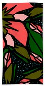 Salmon-pink Beach Towel