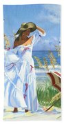 Salt Aire Blues Beach Towel
