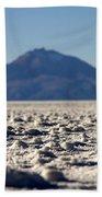 Salt Flat Surface Beach Towel