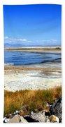 Salt Lake Utah Beach Towel