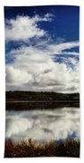 Salt Pond Mirror  Beach Towel