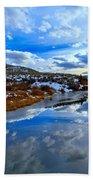 Salt River Reflections Beach Towel