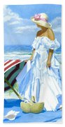 Salt Water Blues Beach Towel
