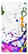 Salvador Dali Pop Art Beach Towel