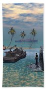 Salvage Operation Beach Towel