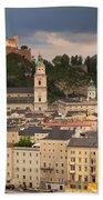 Salzburg After The Storm Beach Towel