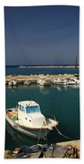 Sami Harbour Kefalonia Beach Towel