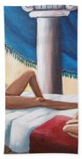 Samson And Delilah Beach Towel