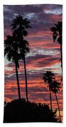 San Clemente Sunset Beach Towel