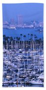 San Diego Twilight Beach Towel