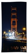 San Francisco - Golden Gate Bridge From North Vista Point Beach Towel